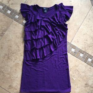 Ralph Lauren Polo cutest ruffle dress girls 8-10